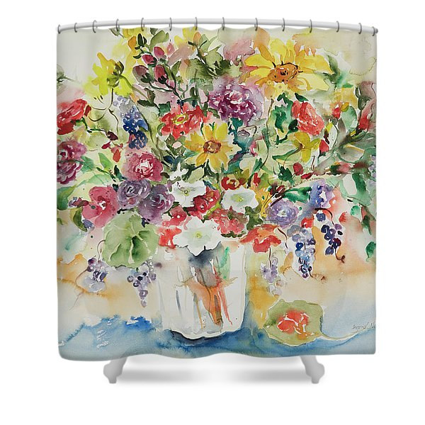 Watercolor Series 33 Shower Curtain