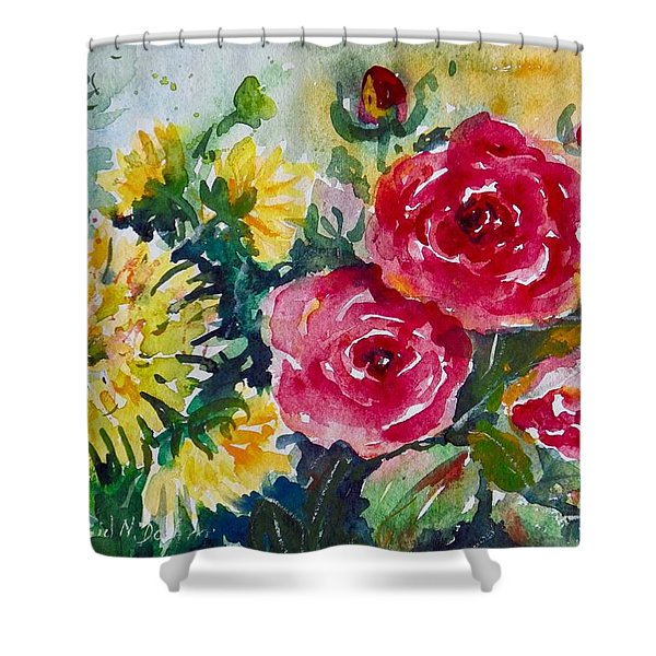 Watercolor Series No. 212 Shower Curtain