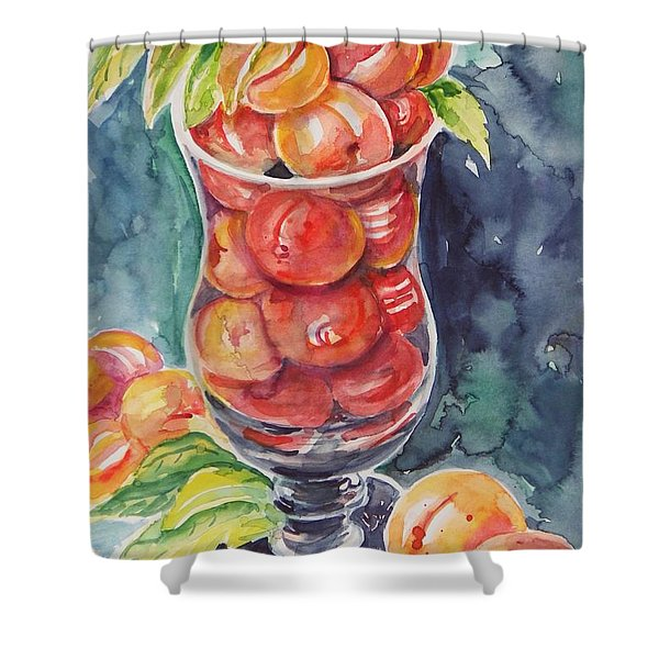 Watercolor Series No. 214 Shower Curtain