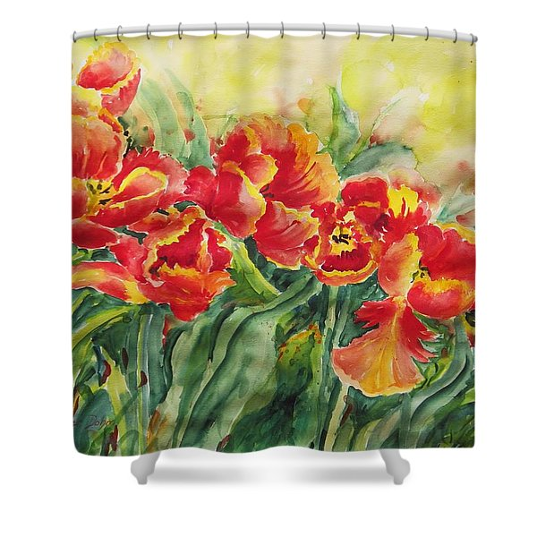 Watercolor Series No. 241 Shower Curtain