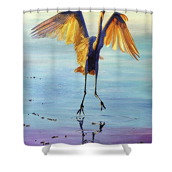 Waterdance Shower Curtain