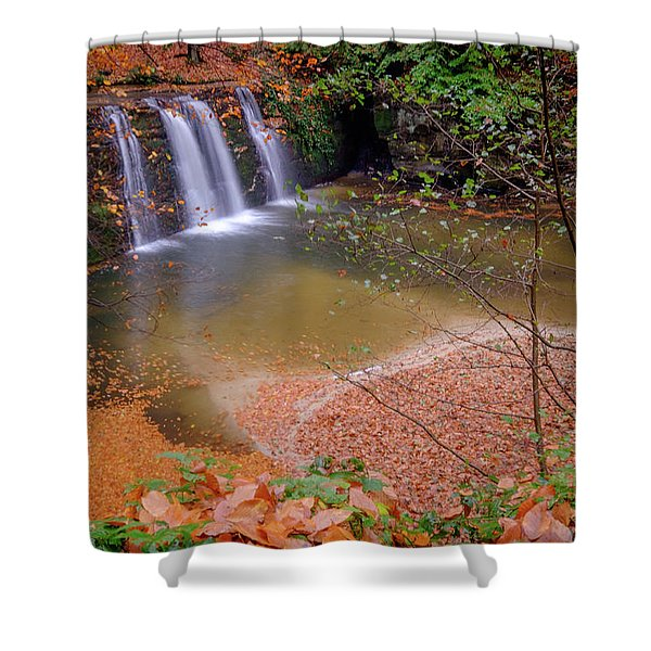 Waterfall-1 Shower Curtain
