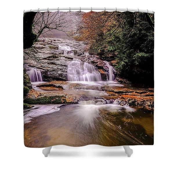 Waterfall-10 Shower Curtain