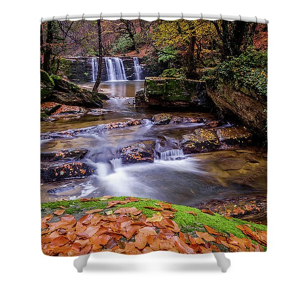 Waterfall-2 Shower Curtain