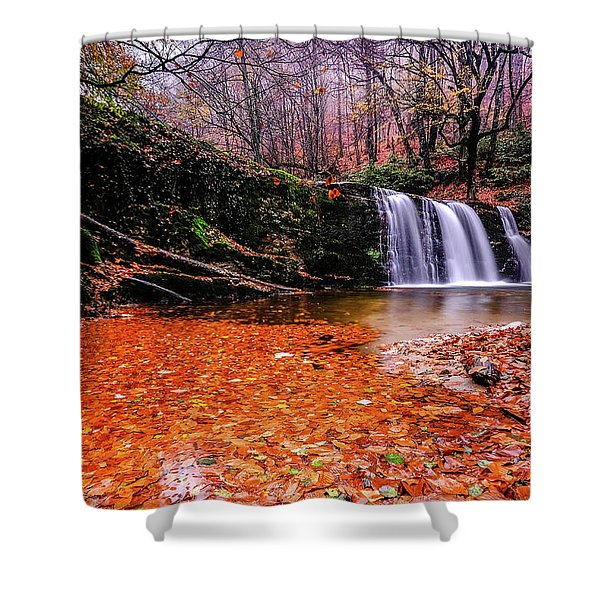 Waterfall-7 Shower Curtain