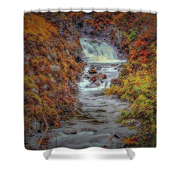 Waterfall #g8 Shower Curtain