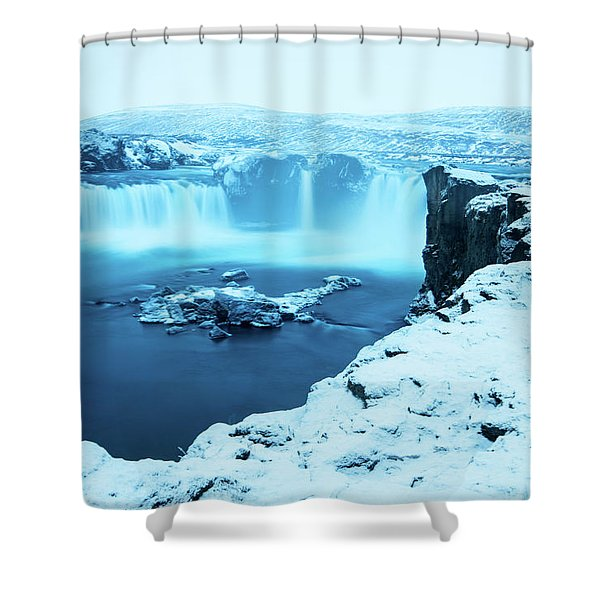 Waterfall Of The Gods Shower Curtain