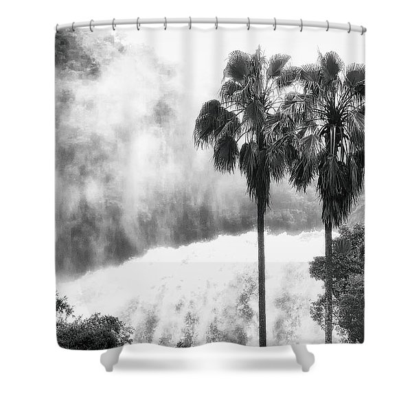 Waterfall Sounds Shower Curtain