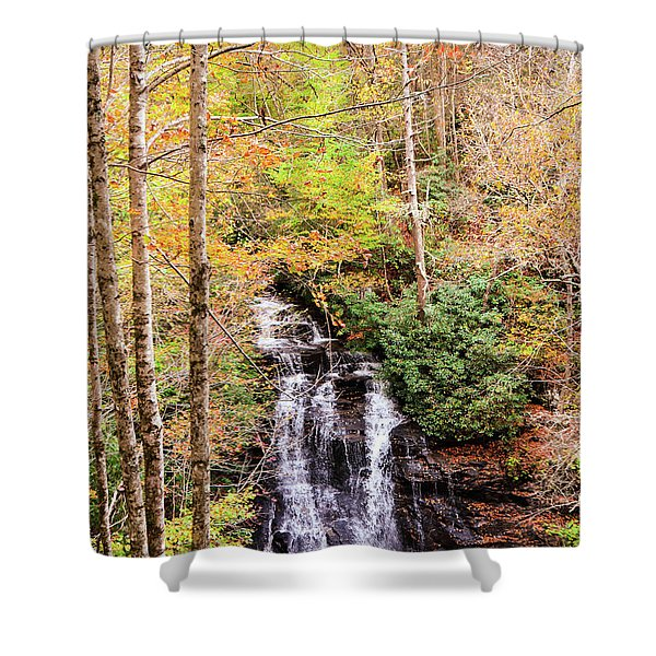 Waterfall Waters Shower Curtain