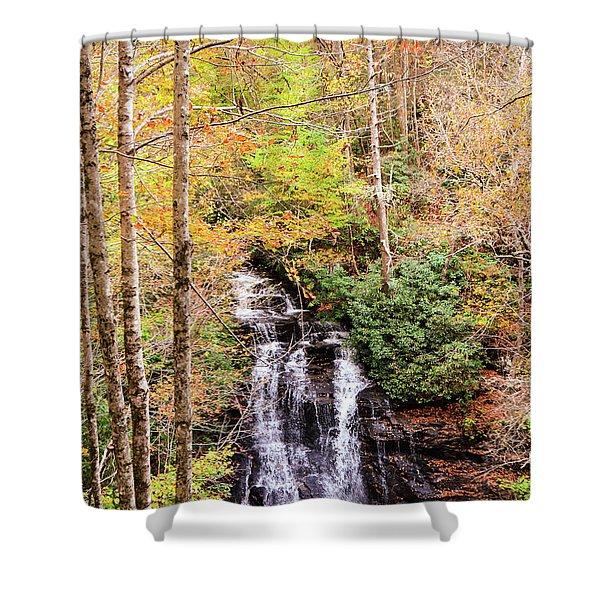 Waterfall Waters Shower Curtain