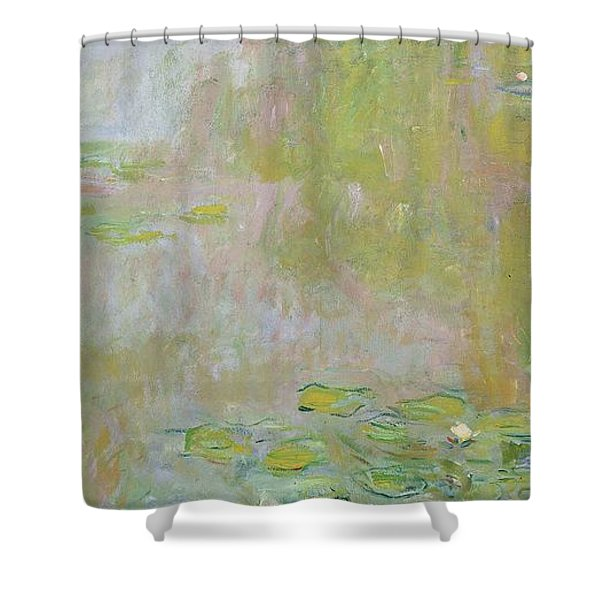 Waterlilies At Giverny Shower Curtain