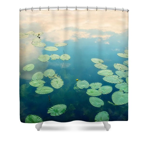 Waterlilies Home Shower Curtain