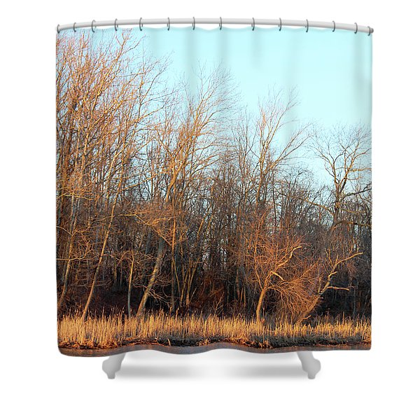 Waters Edge 2 Shower Curtain