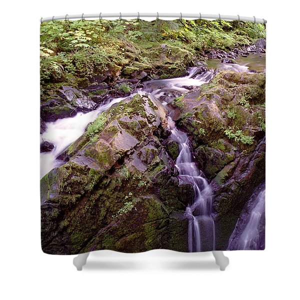 Waterstreaming Shower Curtain