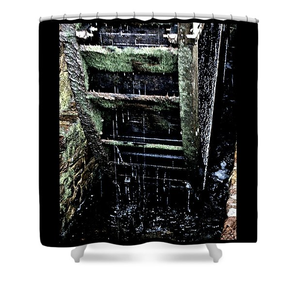 Waterwheel 1 Shower Curtain