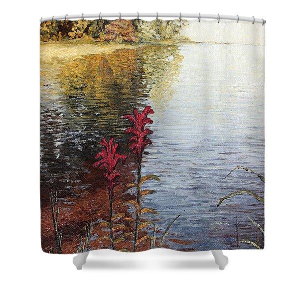 Watts Bar Lake Rockwood Tn Shower Curtain