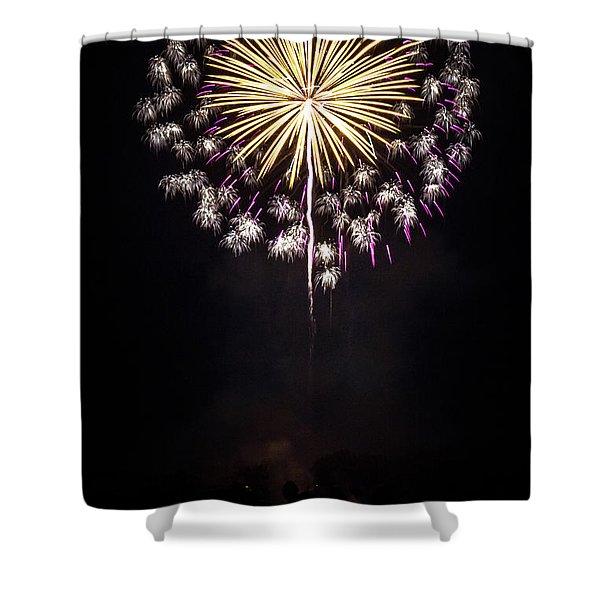 Waukesha Fireworks 03 Shower Curtain