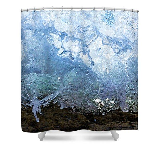 Wave 1 Shower Curtain