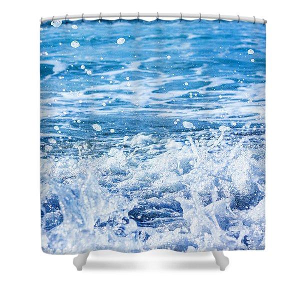 Wave 3 Shower Curtain