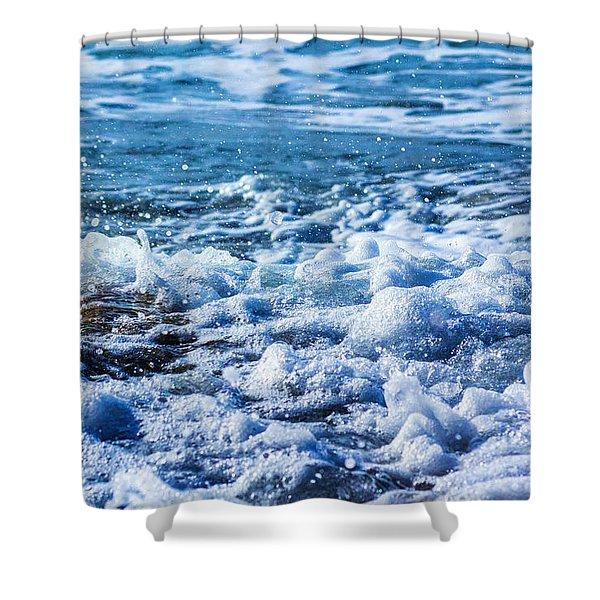 Wave 4 Shower Curtain