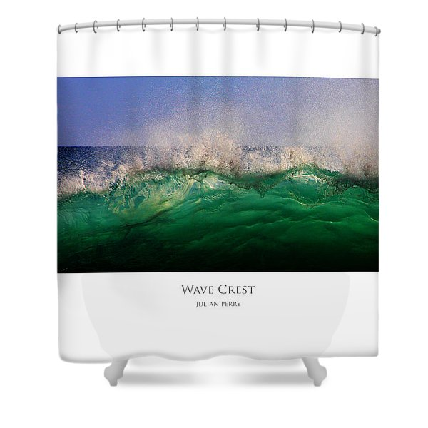 Wave Crest Shower Curtain
