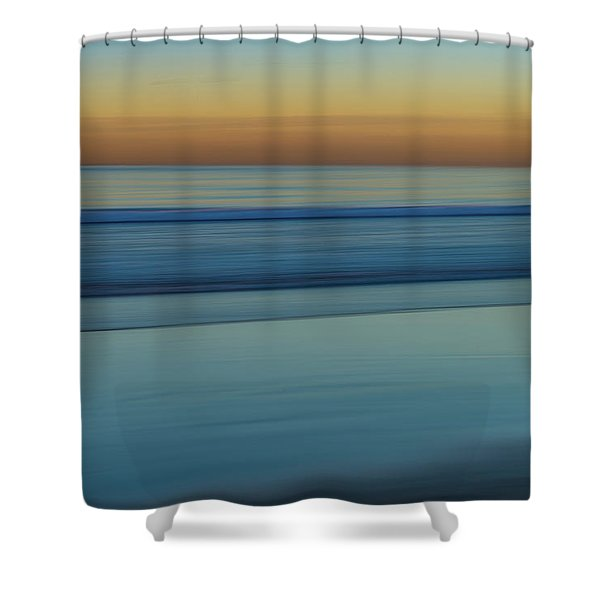 Wave Tracks 3 Shower Curtain