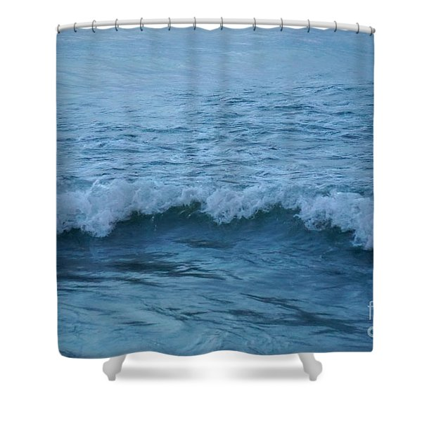 waves I Shower Curtain