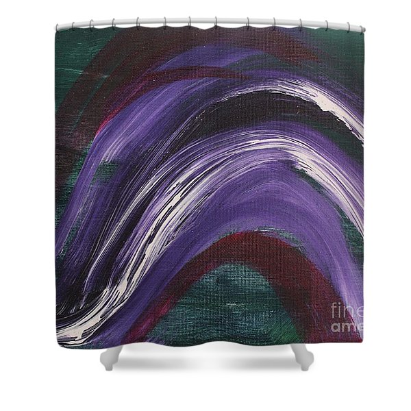 Waves Of Grace Shower Curtain
