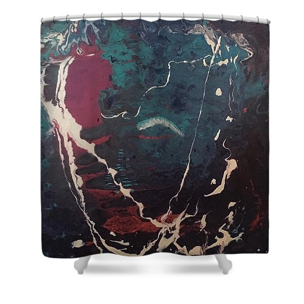 Life's Waves Shower Curtain