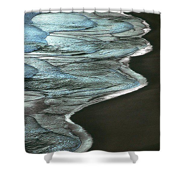 Waves Of The Future Shower Curtain