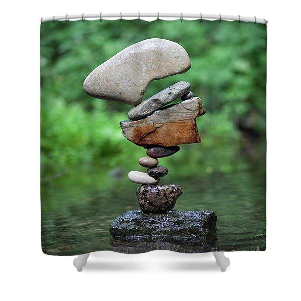 Way Of Zen Shower Curtain
