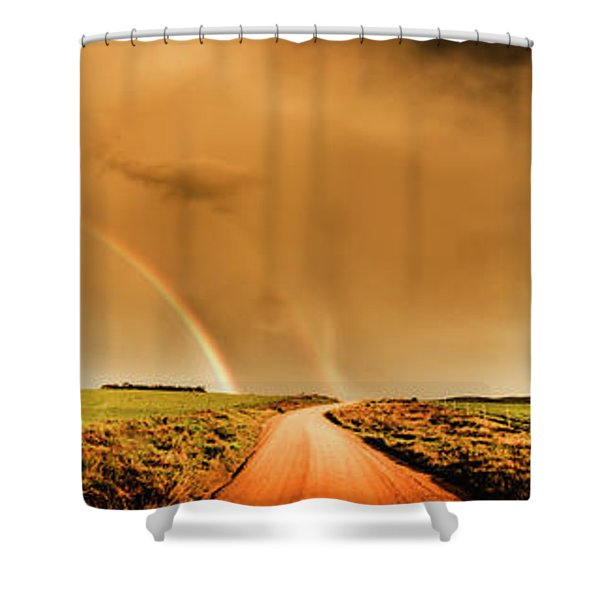 Way Outback Shower Curtain