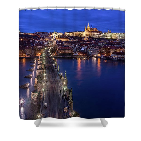 Way To The Castle Shower Curtain