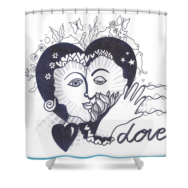 We Are Shower Curtain