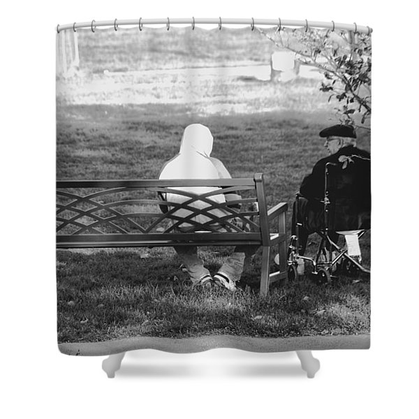 We Are Young Shower Curtain