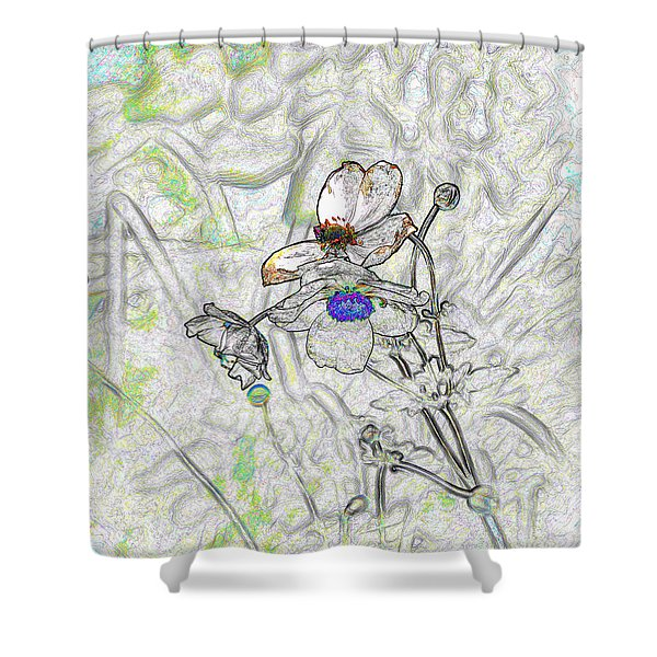 We Fade To Grey 4 Part 3 Shower Curtain