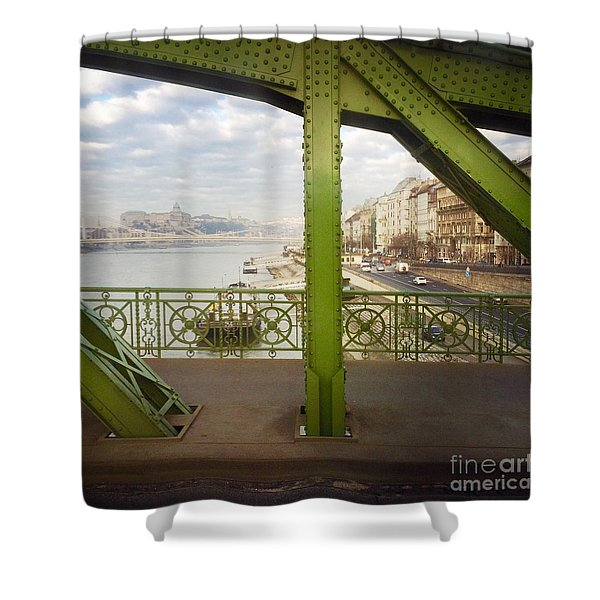We Live In Budapest #4 Shower Curtain