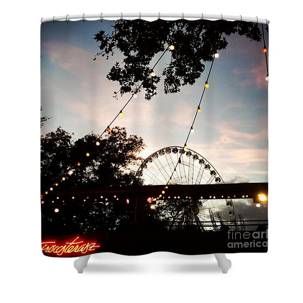 We Live In Budapest #7 Shower Curtain