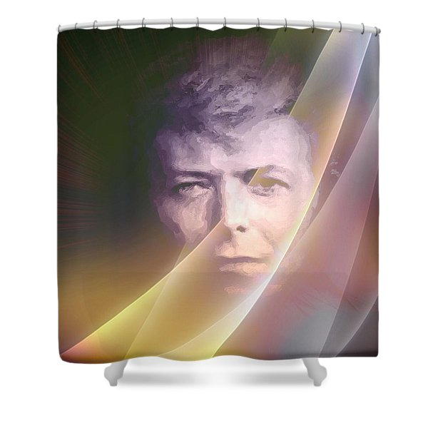 We Love You David Shower Curtain