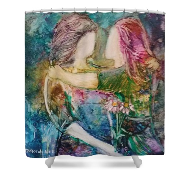 We Need Each Other Shower Curtain
