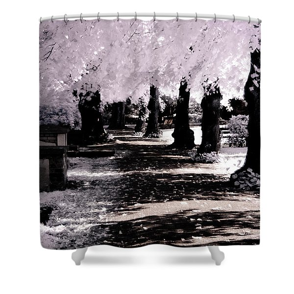 We Will Be Trees Shower Curtain