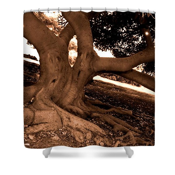 We Would -- Screaming Trees Shower Curtain