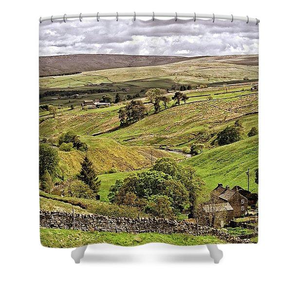 Weardale Landscape Shower Curtain