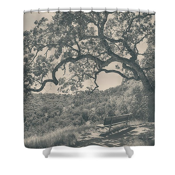 Weary Shower Curtain