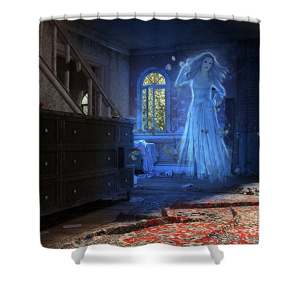 Wedding Calamity Shower Curtain
