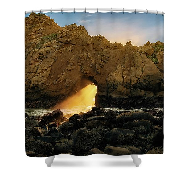 Wedge Of Light Shower Curtain