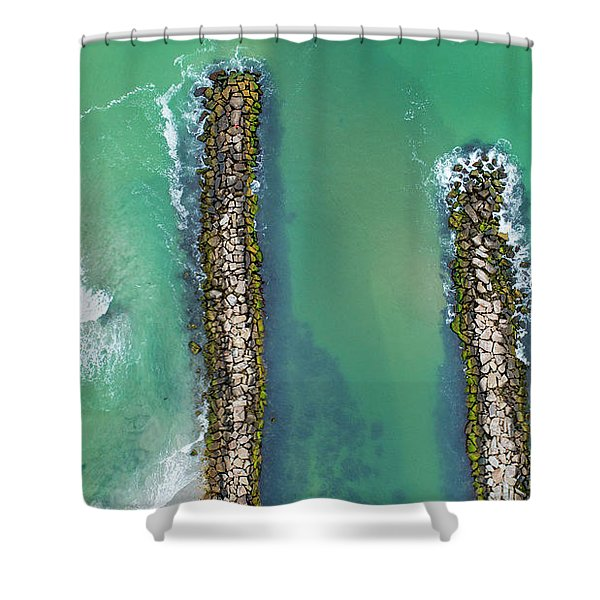 Weekapaug Breachway Shower Curtain