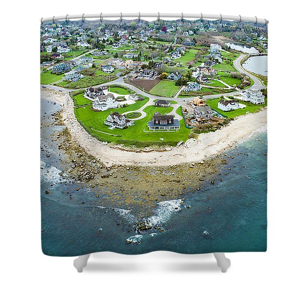 Weekapaug Point Shower Curtain
