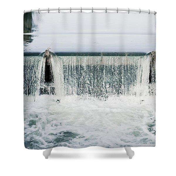 Weir Shower Curtain