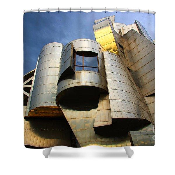 Weisman Art Museum University Of Minnesota Shower Curtain
